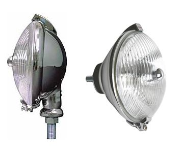 Accessory Fog And Driving Lamps | Quality reproductions of the classic Lucas SLR and SFT lamps from the 50's and 60's.