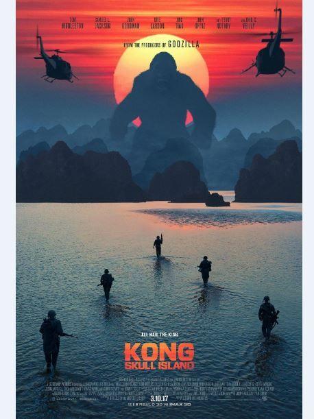 Kong Skull Island Sunset