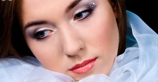 Lesson wedding makeup for the winter