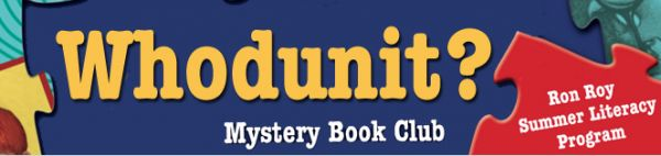 "Free mystery book club for kids.  Love Ron Roy's ""A to Z Mysteries!"""