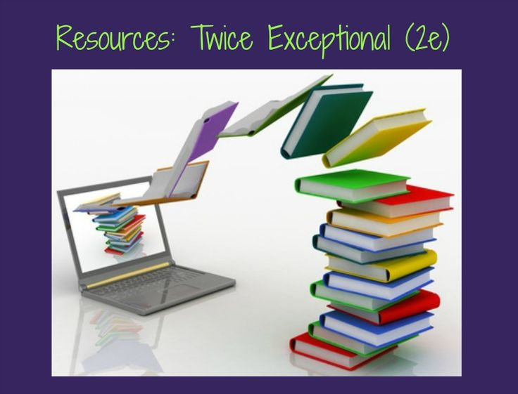 Resources for parenting and education twice-exceptional (2e) children.