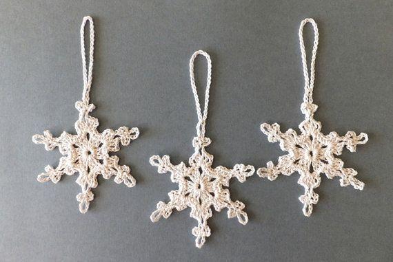 El işi tığ noel kar tanesi süsler farklı tasarım beyaz dantel kar taneleri yılbaşı ağacı süsleme bb