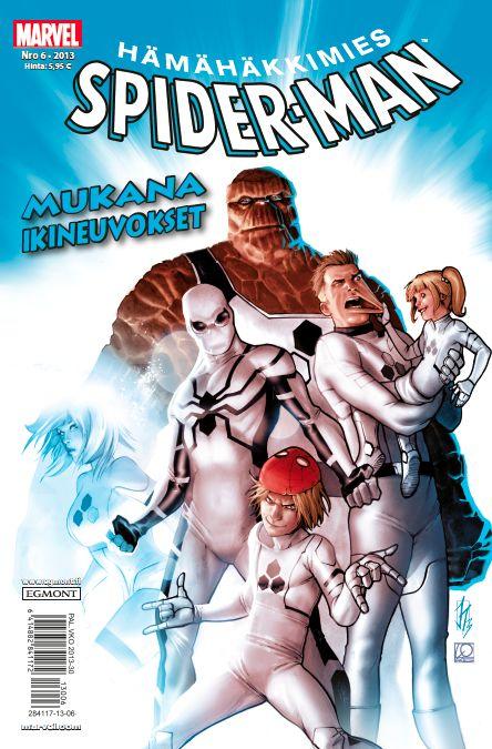Hämähäkkimies - Spider-Man nro 6/2013. #sarjakuva #sarjakuvalehti #sarjis #egmont #marvel