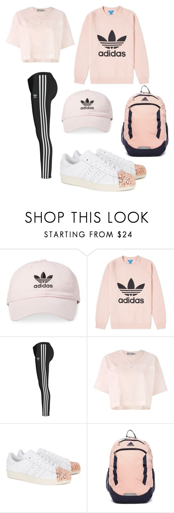 """""""Adidas"""" by kaylakmichell-kat ❤ liked on Polyvore featuring adidas and adidas Originals"""