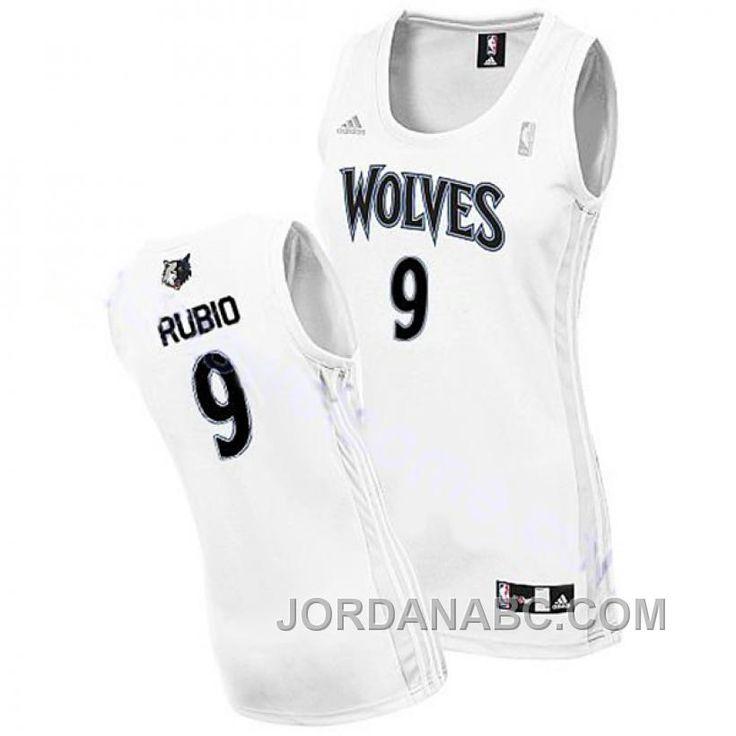 500793904e1 ... ricky rubio wolves 9 women revolution 30 swingman white jersey