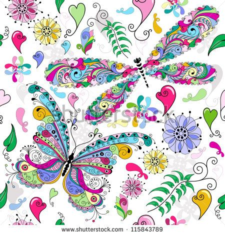Vintage Flowers Vectores en stock y Arte vectorial | Shutterstock