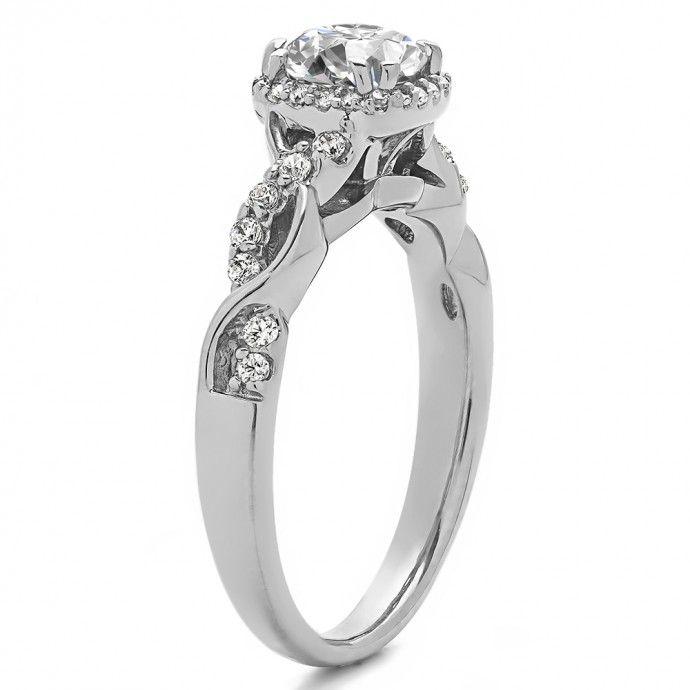 1.31 Carat Twig Engagement Ring  - Engagement