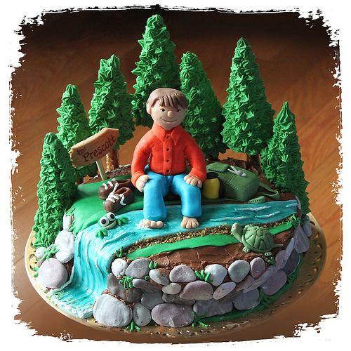 Outdoor Hiker Cake