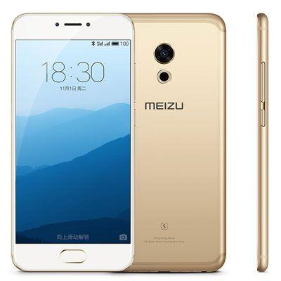 Meizu Pro 6s (4G RAM+64GB ROM) Dual Sim Smartphone (Gold)