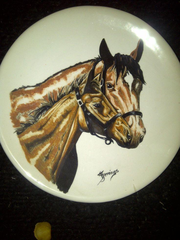 ceramic plates i did in 2003