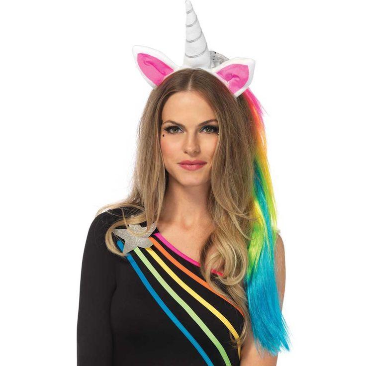 Leg Avenue Magische eenhoorn haarband - Kostuum Party Halloween - Leg