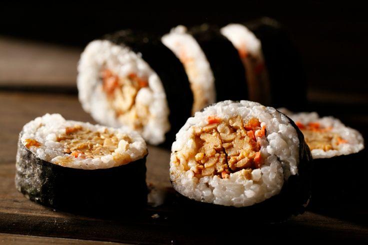 Tempeh Maki Rolls [Vegan, Gluten-Free]