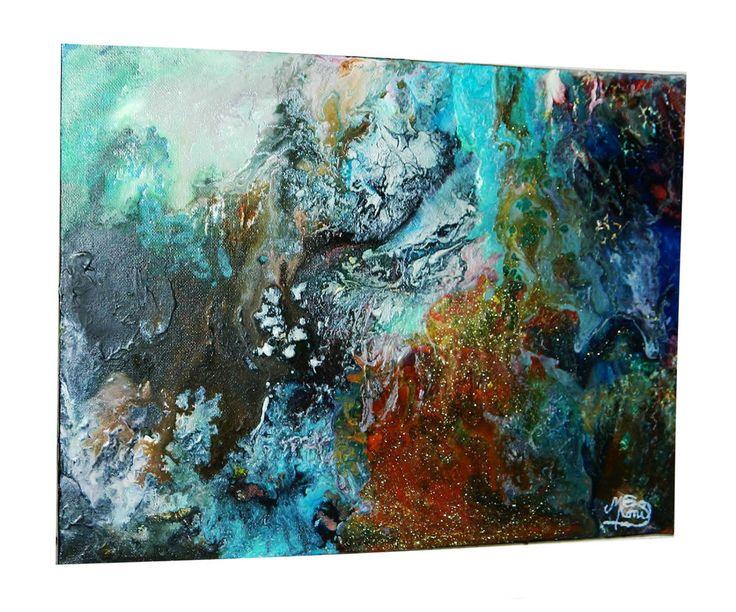 Gut gemocht Les 49 meilleures images du tableau Peinture abstraites sur  RY27