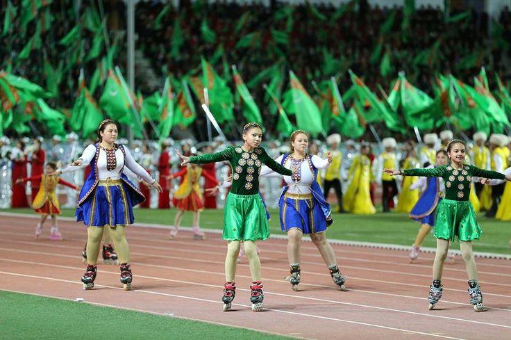 Türkmenistan'ın 25. Bağımsızlık Yıl Dönümü Töreni'nden…