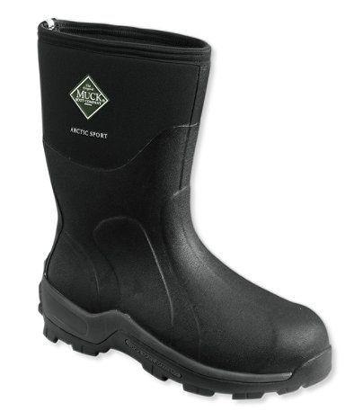 Black dress pants mens muck boots