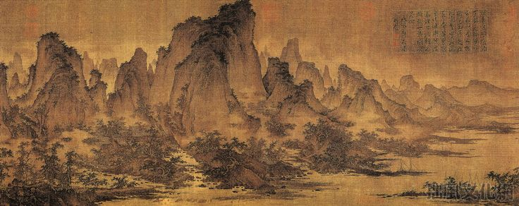 chinese ink painting landscape song dynasty - Google Search