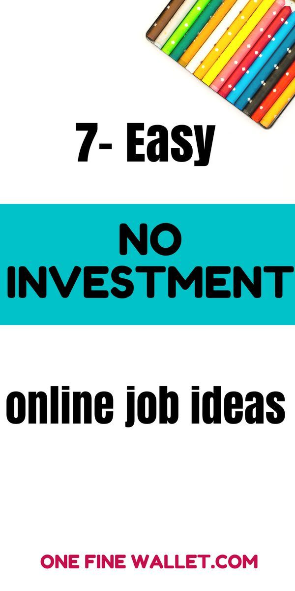 50+ Online Jobs Without Investment and Registration Fee