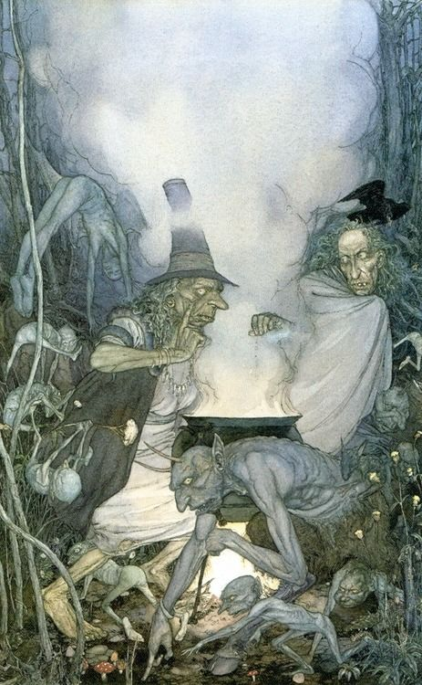 """Faerie Spell"" by Alan Lee"
