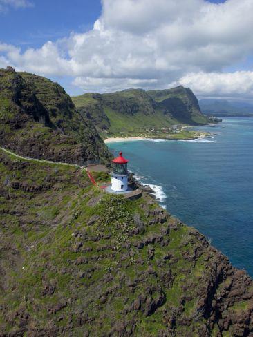 Makapu'u Lighthouse, Oahu, Hawaii. #lighthouse #oahu #hawaii http://nexttrip.com/tour/adventure-hawaii-vacation-tour