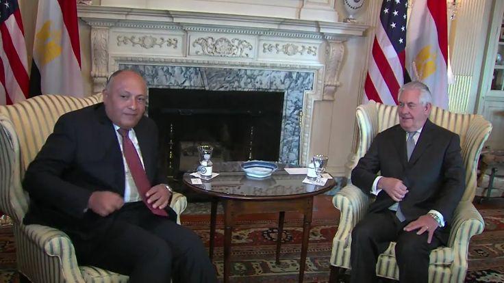 State Secretary Tillerson Meets Egyptian FM Shoukry