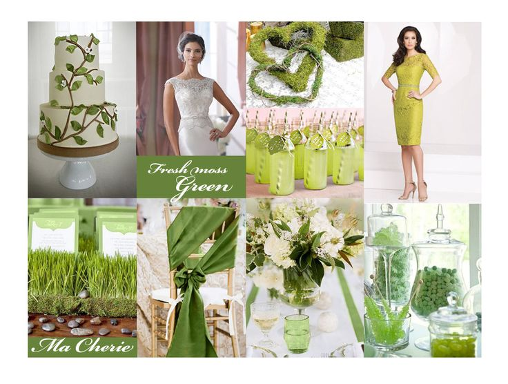 Fresh greens for brides and mothers