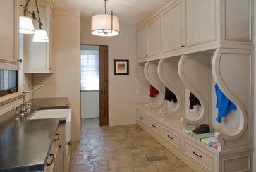 Old World Elegance rustic-laundry-room