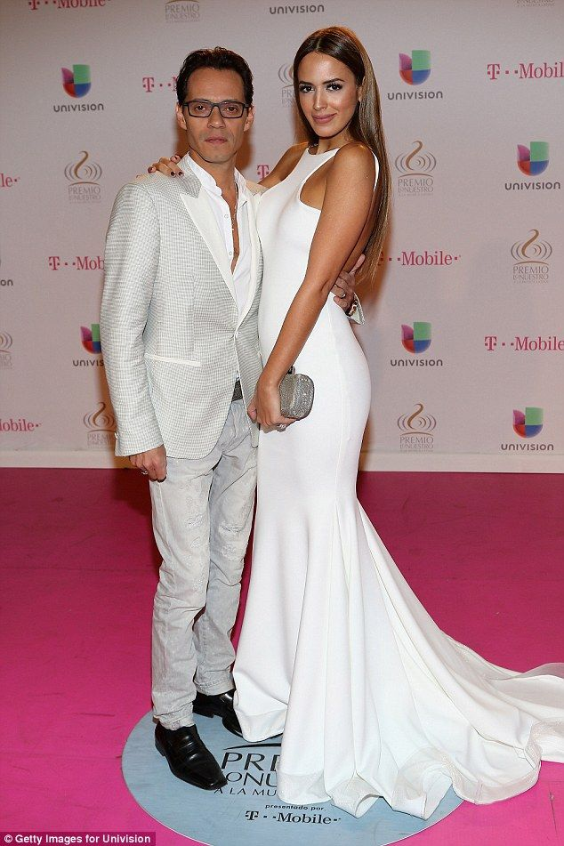 Official:It has just been revealed that Marc Anthony (pictured February) filed for divorce his wife Shannon de Lima, 28, on December 16