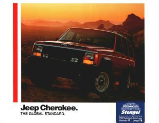 1988 Jeep Cherokee brochure