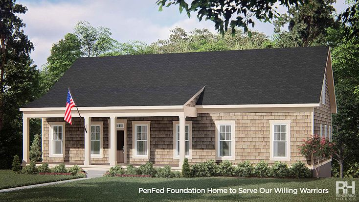 PenFed Foundation Home To Serve Our Willing Warriors Will Provide Respite For Wounded Warriors #military #woundedwarriors #veterans #supportourtroops