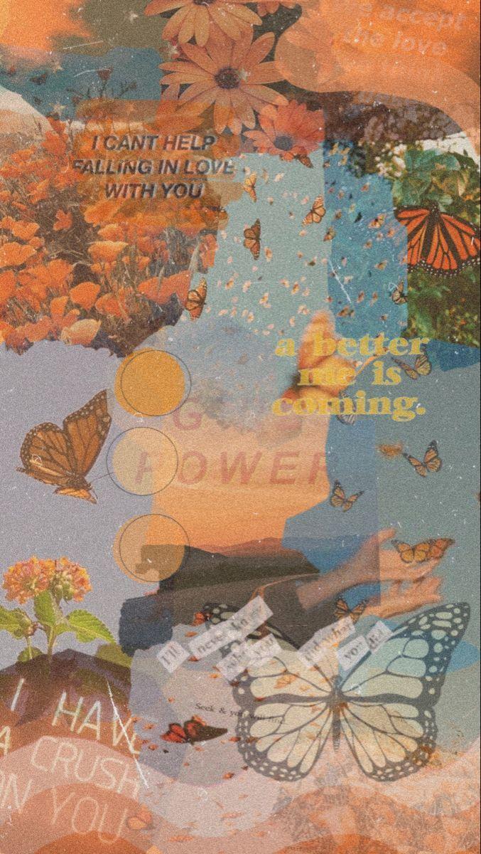Butterfly Aesthetic In 2020 Butterfly Wallpaper Travis Scott Wallpapers Emoji Wallpaper Iphone