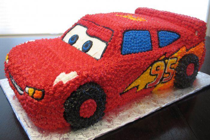 Lightning Mcqueen 3d Cake Birthday Cakes 2f3d
