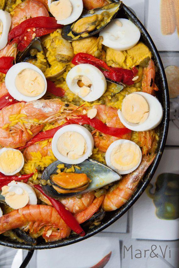 come fare la paella, ricetta in italiano