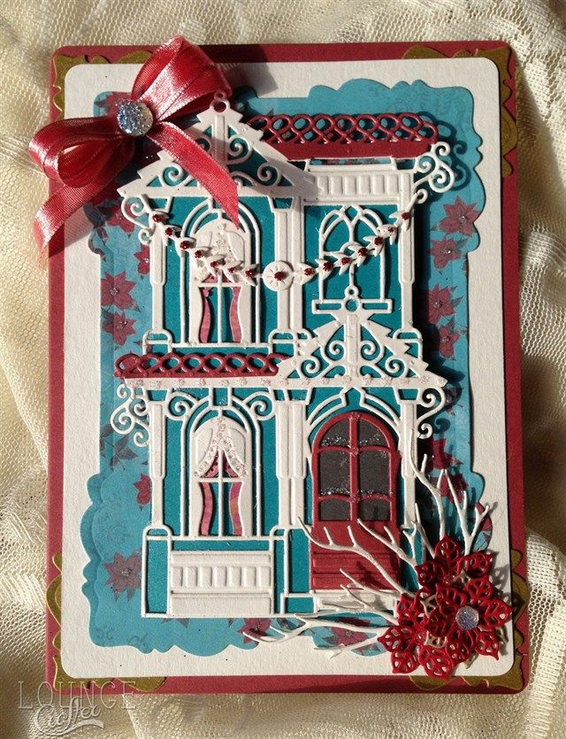 Festive Painted Lady | docrafts.com