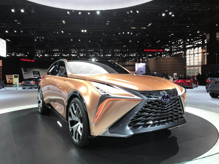 Cool Cars at the 2018 Chicago Auto Show: Lexus LF-1 Limitless Concept (Sinclair Broadcast Group / Jill Ciminillo)