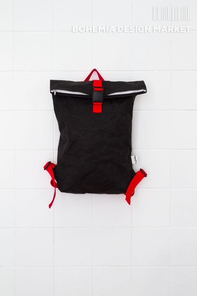 #black #eco #vegan #handmade #backpack #original #local #design