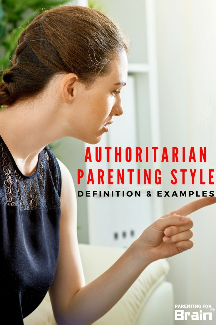 authoritarian parents Although both authoritative and authoritarian parents place high demands on  their child, they are different in what they try to control both types of parents  expect.