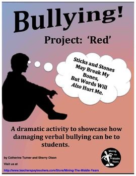 An anti bullying activity for empathy buildingThis whole class activity…