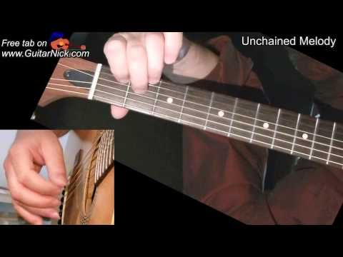 Unchained Melody (Ghost): fingerstyle + TAB! Guitar lesson, learn how to play - YouTube