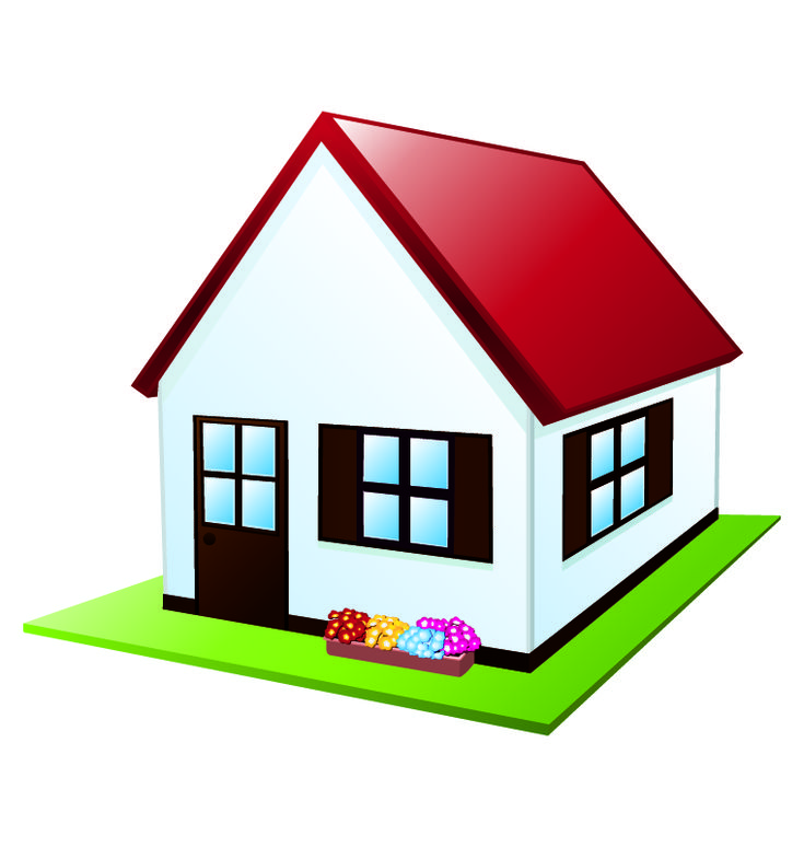 Pic On free cartoon house pictures House Cartoon Vector