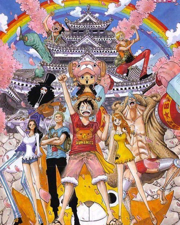 One Piece Mugiwara Luffy Zoro Sanji Ussop Nami Ussop Robin Chopper Franky Brook Jinbei Gol D R One Piece Wallpaper Iphone Anime Wallpaper Phone Chibi Wallpaper
