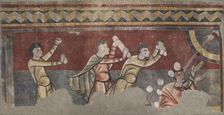 Lapidació de sant Esteve de Boí | Museu Nacional d'Art de Catalunya