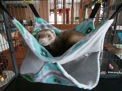 FERRET HAMMOCK - Bunk bed style for Double the Fun! Chinchilla - Rat Snuggle #4