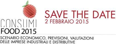 """Il 2 febbraio a Milano il convegno organizzato da TuttoFood e IRI su """"I Consumi Food 2015. Scenario economico, previsioni, valutazioni delle imprese industriali e distributive""""."""