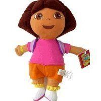 """Dora the Explorer Large 15"""" Plush Doll Wearing Mr. Purple Backpack by NC Educational Products. $15.99. Dora 15"""" plush doll with her friend Mr. Backpack. Great gift for your little Dora the Explorer Fan."""