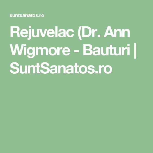 Rejuvelac (Dr. Ann Wigmore - Bauturi | SuntSanatos.ro
