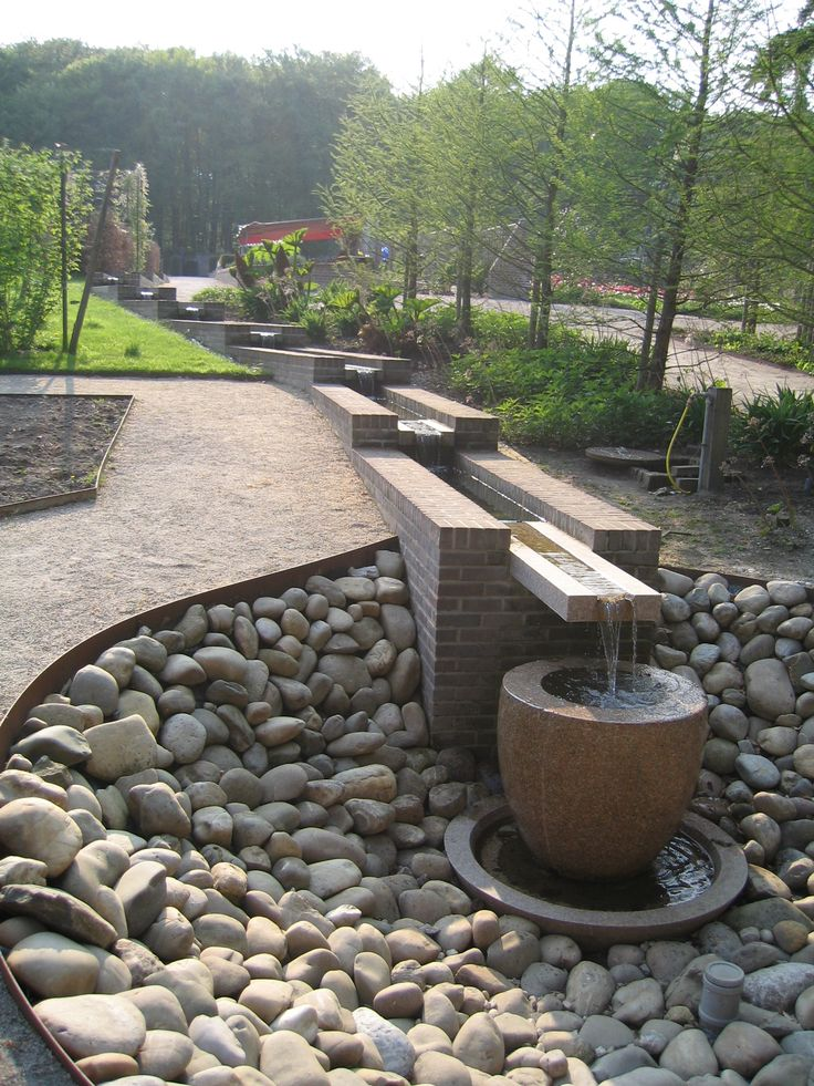 17 best ideas about outdoor water fountains on pinterest for Backyard water fountains