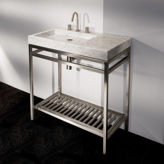 Bathroom Sinks With Metal Legs 63 best bathroom images on pinterest | bathroom ideas, bath