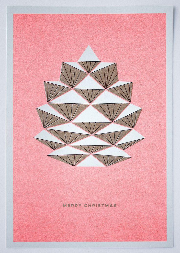Christmascard Countdown seen on HappyMakersBlog.com ~ Illustration : Pillah Studio