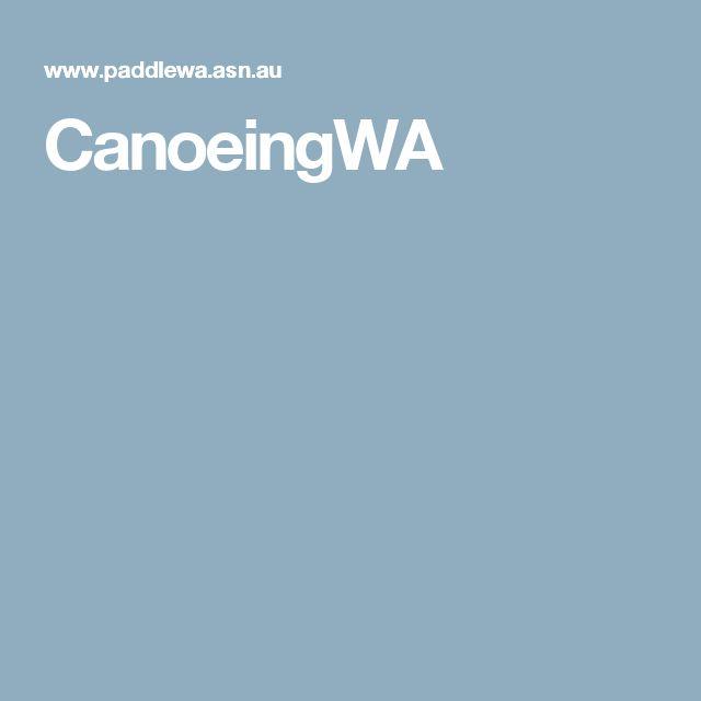 CanoeingWA