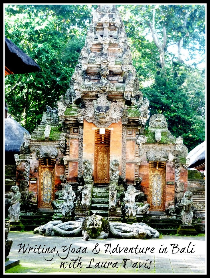 """The Writer's Retreat of MY Dreams: Bali. """"Writing, traveling and yoga are transformative experiences that can open your heart, expand your world, and put you in touch with your own deepest self. This in-depth excursion into the culture of Bali—through the eyes of the Balinese—will use writing practice and yoga as a daily touchstone.""""  Sigh!   #writing #travel #yoga #retreat #Bali"""